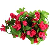 2.3M Artificial Fake Hanging Vine Flower Leaves Garland Home Garden Wall Decoration