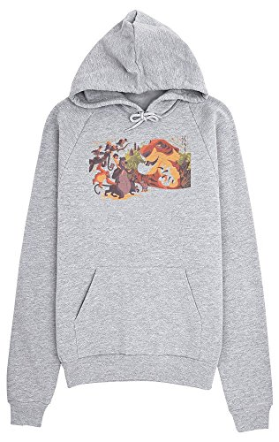 The Jungle Book Beautiful Illustration Women's Hoodie Pullover Extra Large