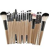 Riou Pinceaux Maquillage 22pcs Professionnelle Kits - Poudre,...