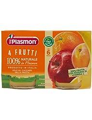 Plasmon 4 Frutti Omogeneizzato - 2 x 104 gr