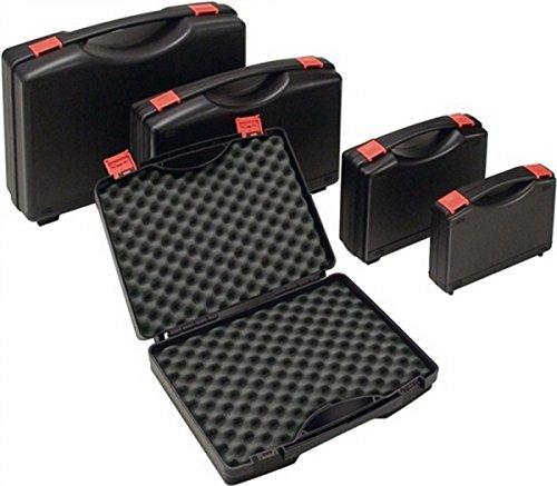 Kunststoffkoffer PP schwarz m.Schaumstoffeinlage B235xT185xH48mm