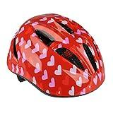 Fischer Fahrradhelm Herz, Rot, XS, 86100