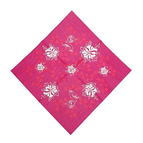 rbn-lot-de-20-serviettes-en-papier-25x25-cm-bonhomme-de-neige-3-feuilles-fleur-rose-rouge