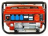 Benzin Stromerzeuger, Benzin Generator KT-8500W mit 3.0 kW Dauerleistung für Gartenbereich sowie Freizeit- und Campingaktivitten. - 3