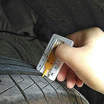 Buydirect Reifen Profiltiefenmesser Auto Motorrad Trailer Rad Measure Tool 0–20 Mm 2 Stück … 1
