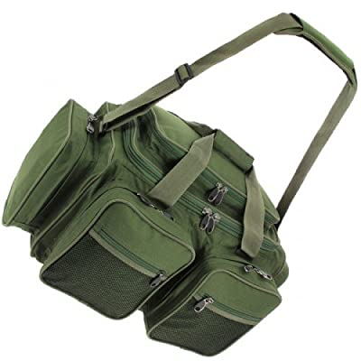 NGT Unisex Xpr Carryall Carp Coarse Fishing Tackle Box Bag, Green, 61 x 29 x 31 cm by NGT
