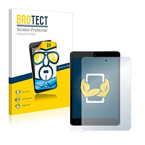 BROTECT Schutzfolie kompatibel mit Hisense Sero 8 Pro [2er Pack] - kristall-klare Bildschirmschutz-Folie, Anti-Fingerprint