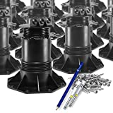 Trevendo® 15 Stück Stelzlager 140-220 mm inkl. Zubehör