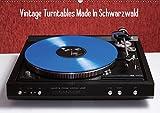 Vintage Turntables Made In Schwarzwald (Wandkalender 2019 DIN A2 quer): Nahaufnahmen von Schallplattenspielern aus dem Schwarzwald (Monatskalender, 14 Seiten ) (CALVENDO Hobbys)