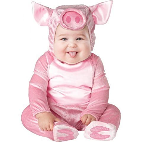 Deluxe pour bébé Motif animaux de la Ferme Cochon Ros'en caractères Fancy Me Costume d'Halloween