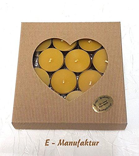 geschenkverpackung-12-xteelichter-aus-reinem-bienenwachs-oster-weinachts-honig-hochzeit-taufe-komuni