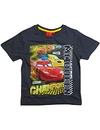 Disney Cars 2 T-Shirt 2017 Kollektion 92 98 104 110 116 122 128 Shirt Kurz Sommer Neu Lightning McQueen Jungen Anthrazit