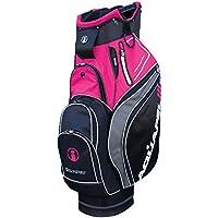 Masters Golf iCart aquapel3–Carro con ruedas (aluminio), color negro/rosa
