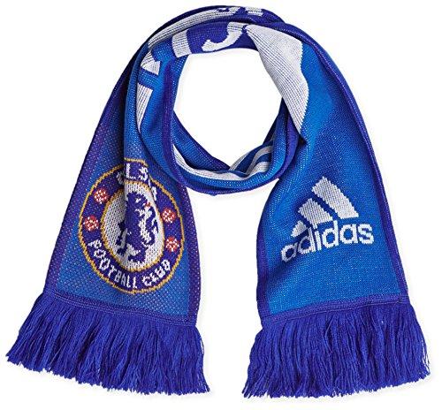 adidas Herren Schal FC 3S Scarf, Chelsea White/Core Blue S10, One Size -