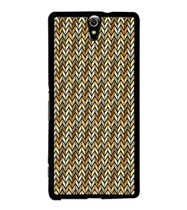 Fiobs Designer Back Case Cover for Sony Xperia C5 Ultra Dual :: Sony Xperia C5 E5533 E5563 (jaipur rajasthan african america cross pattern)