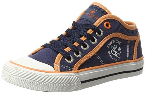 Tom Tailor Kids Jungen 2772903 Low-top Sneaker, Blau (Navy-Orange), 38 EU (High-top-toms)