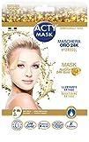 actymask acty Mask–Maschera Tessuto idrogel all' oro 24K