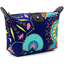 Fulltime® 1PC Maquillage style Femmes Voyage traditionnel Purse Cosmetic Pouch Sac à main