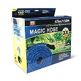 Magic Hose Tubo mágico elástico para jardín, bomba estenisibile hasta 3veces su longitud...
