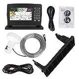 Hlyjoon Écran tactile 7 pouces Portable Écran couleur XF-607 Navigateur Marine Navigator GPS Locator Navigation avec carte Lecteur universel