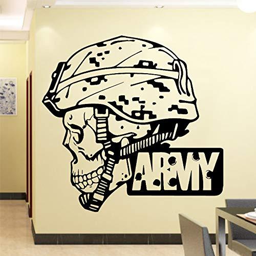 John Deere Magnet (Kühle Armee Wandaufkleber Pvc Wandkunst Aufkleber Moderne Mode Wandsticker Dekoration Zubehör Für Wohnzimmer Schlafzimmer 86 cm x 82 cm)