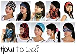 #1: Zacharias Multi functional Stylish Bandana (Mix colors And Mix prints)