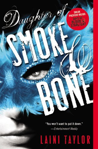 Book cover for Daughter of Smoke & Bone