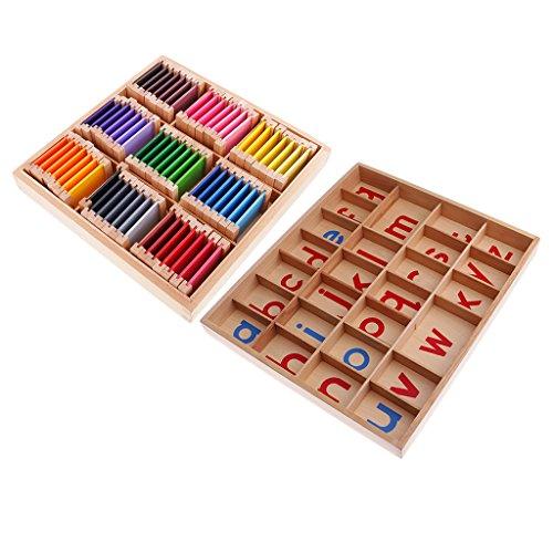 Descripción:       - Excelentes ayudas de enseñanza preescolar para niños    - Mejorando la comunicación entre padres e hijos        Especificación:       - Material: Beechwood    - Color: color mezclado        Carta del tamaño:       - Caja ...