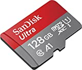 SanDisk Ultra 128GB microSDXC Memory Card + SD Adapter with A1 App Performance up to 100MB/s, Class 10, U1 only £31.40 on Amazon