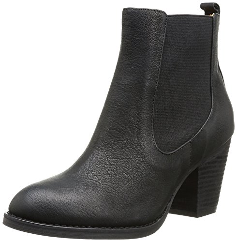 Buffalo London Damen 412-0964-2 ARNO Leather Chelsea Boots, Schwarz (Black 01), 36 EU Buffalo Rock