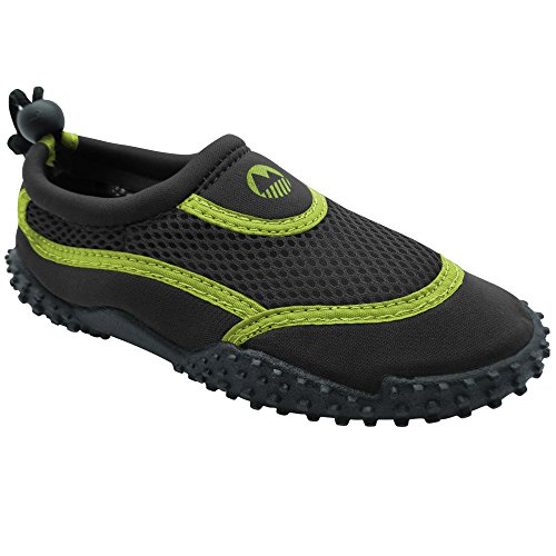 Lakeland Active Kid's Eden Aqua Shoes -Black/Electric Yellow - 37 (Wasser Junge)