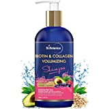 StBotanica Biotin & Collagen Volumizing Hair Shampoo - 300ml - No Sulphate, No Parabens, No Silicon