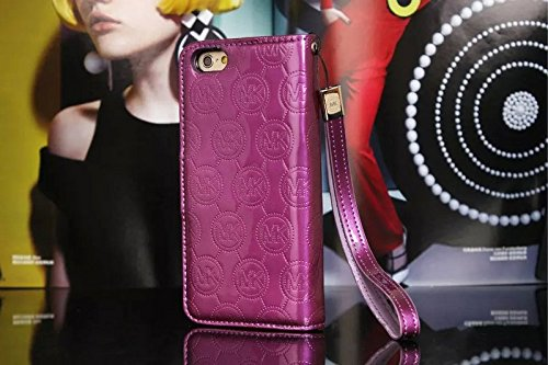 Fashion Luxury leather Phone case For Iphone6 (4.7) Flip Case With Wallet Function - iphone case with card holder belt clip color3.7 color3.3