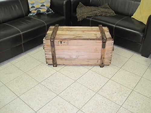 Holzkiste Shabby Chick Vintage Tisch Bank Kiste Stuhl Deko Weinkiste