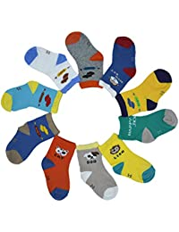 BOMPOW - Medias - para bebé niño multicolor multicolor Talla única