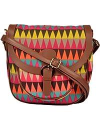 All Things Sundar Womens Sling Bag / Cross Body Bag - S10 - 72B