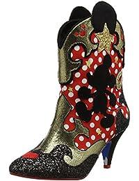 Irregular Choice Damen Hot Diggety Dog Cowboy Stiefel