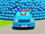 Farben lernen zusammen mit Feuerwehrauto