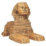 Design Toscano WU69354 Grande Sfinge di Giza Scultura, 18x7.5x12.5 cm