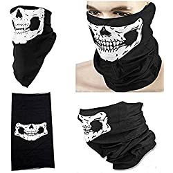 DP Design® Bandana Pañuelo menos Casco Calavera para moto airsoft Esquí Bicicleta Ghost Skull