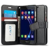 J&D Case Compatible for Huawei Honor 8 Case, [Wallet Stand]