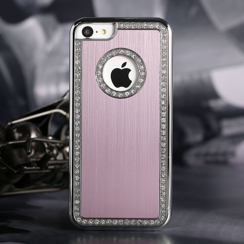 style-icon-iphone-5c-deluxe-pink-brushed-aluminum-diamond-case-bling-cover-for-iphone-5c