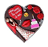 #5: I Love You Chocolate – a special message chocolate gift for him her girlfriend boyfriend fiancé husband wife( 170 by 150 mm 250 grams) perfect romantic gift item for any love occasion by Ediblegiftideas (HSNPLV005)