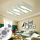 MYHOO 78W Dimmbar Deckenleuchte Modern Deckenlampe Flur Wohnzimmer Lampe Schlafzimmer [Energieklasse A++]