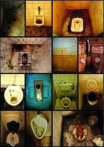 Poster: Toilette! Schnappschüsse bunter Örtchen dieser Welt. DIN A2(42 x 59,4 cm) (Kult Poster)