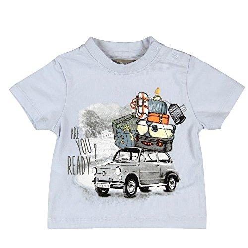 boboli Baby-Jungen T-Shirt Camiseta Punto Liso  Pack, himmlisch, größe 2(92cm)