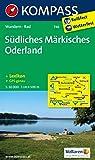 Südliches Märkisches Oderland: Wanderkarte mit Kurzführer und Radwegen. GPS-genau. 1:50000: Wandelkaart 1:50 000 (KOMPASS-Wanderkarten, Band 746)