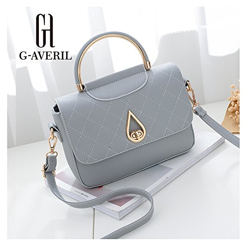 G-AVERIL, Borsa a zainetto donna Dark grey Light grey