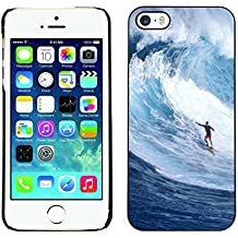 STPlus Surfeur Surf Vague Coque Rigide Étui Cache pour Apple iPhone SE / 5 / 5S