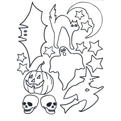 (Halloween pre, Bedruckt, Schrumpfhülle, Plastik, 1 Stück)